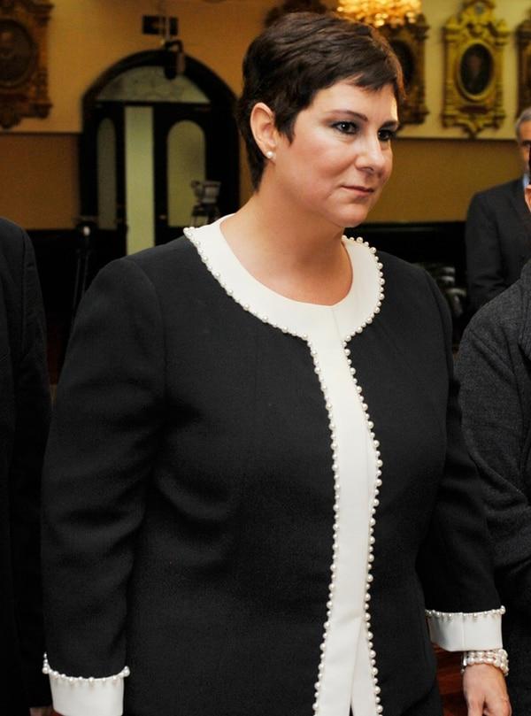 Magistrada Nancy Hernández, de la Sala IV. | ARCHIVO