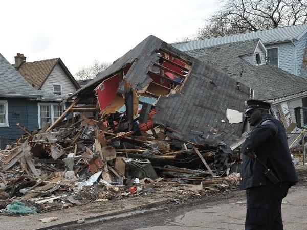 Junto con Queens y Brooklyn, Staten Island fue uno de los barrios en Nueva York con más daño por el paso del meteoro Sandy.   AFP.