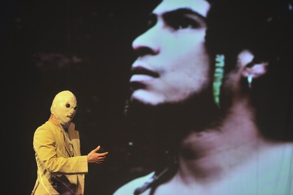 La obra Canto pa' no llorar , | DE ROGELIO LÓPEZ, SE ESTRENÓ A FINALES DE ABRIL EN EL TEATRO LA ADUANA. FOTO: ALONSO TENORIO