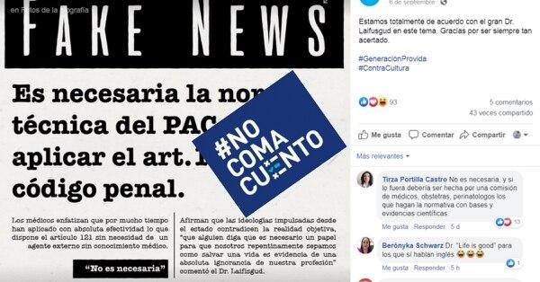 Posteo realizado por la página Democracia en Acción y reproducido por el excandidato presidencial Fabricio Alvarado. Foto: Reproducción.
