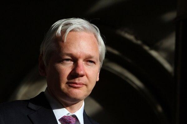 Sin aprobación.Assange nunca apoyó la realización del filme.Archivo