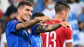 Italia se reencuentra con el triunfo con una goleada