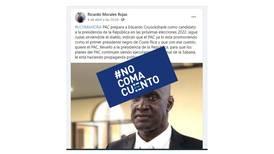 #NoComaCuento: PAC y Restauración desmienten supuesta alianza por candidatura de Cruickshank