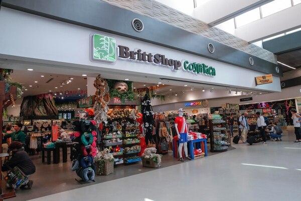 Morpho, división del Grupo Britt, tiene amplia presencia con tiendas en el aeropuerto Juan Santamaría. Además, tiene puntos de venta en 11 países y ahora se fortalecerá en la Riviera Maya de México. Foto: Mayela López