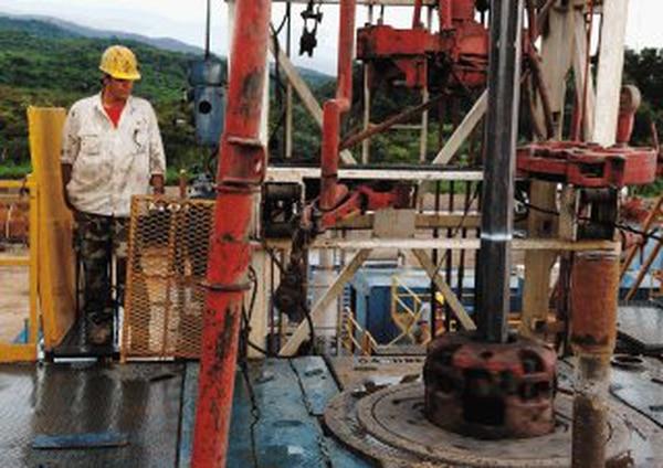 Imagen del proyecto geotérmico Las Pailas, durante su construcción. FOTO: Eddy Rojas/La Nacion