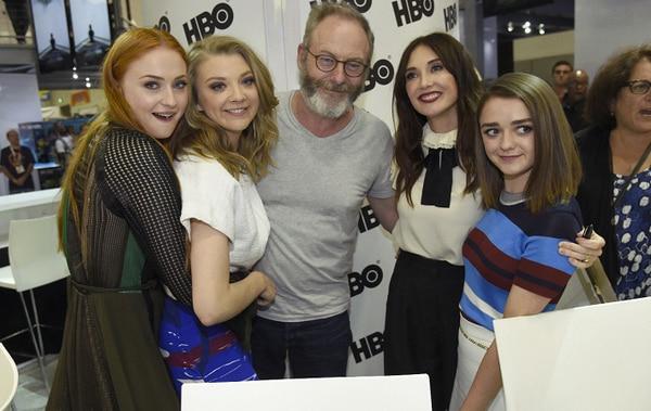 Parte del elenco de Game of Thrones en el Comic-Con 2015.