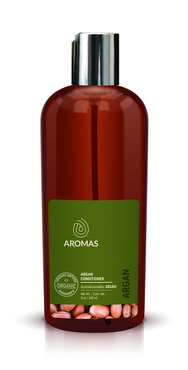 Acondicionador de argán, certificado orgánico. Aromas
