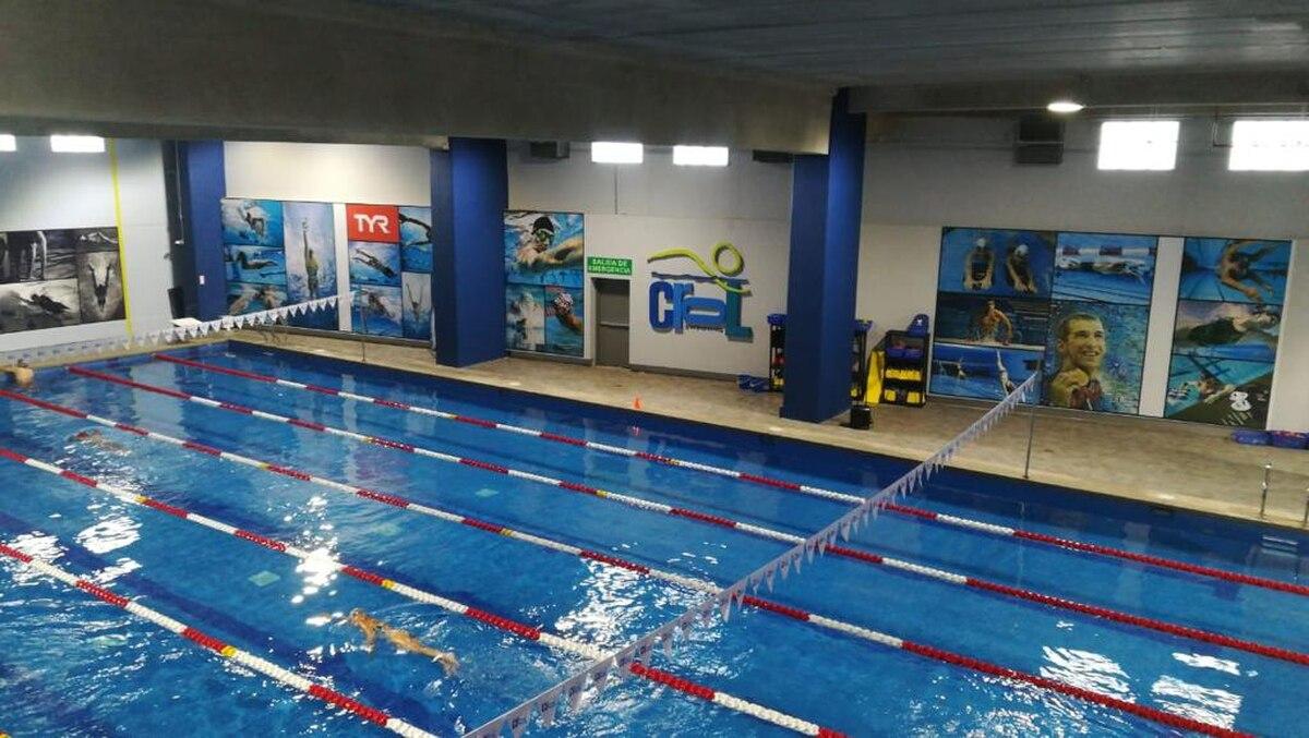 Las academias de Crol Swimming tienen tres sedes, una de ellas está ubicada en el centro comercial Oxígeno, en Heredia. Foto: Cortesía Crol Swimming