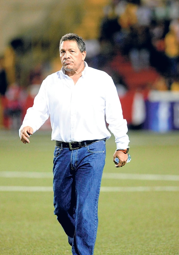 Marvin Solano, entrenador del Herediano. | ARCHIVO