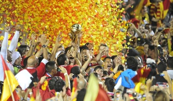 El Herediano venció a Cartaginés en penales en la final del Verano 2013.