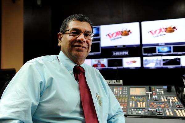 Fernando Artavia es el productor de los Toros de Teletica desde hace 17 años. Foto Rafael Murillo