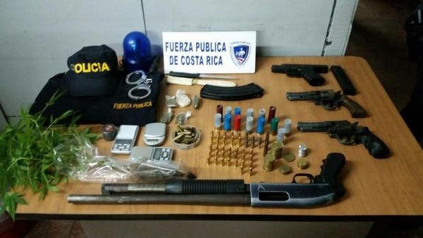 Las armas quedaron a la orden de la Fiscalía y posteriormente serán entregadas al arsenal nacional para su destrucción.