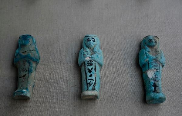 Estas pertenencias de la familia egipcia fueron encontradas en su tumba.