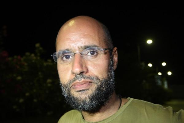 Seif al-Islam Gadafi es requerido por la Corte Penal Internacional (CPI).