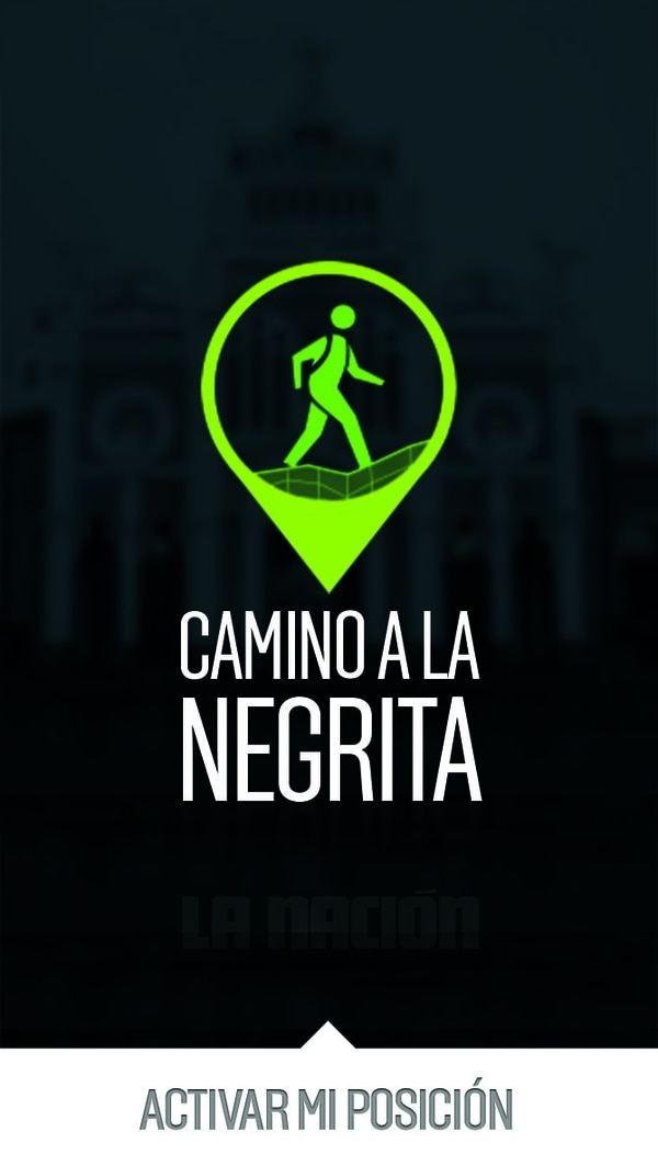 Esta será la imagen que recibirá a los romeros que usen la app