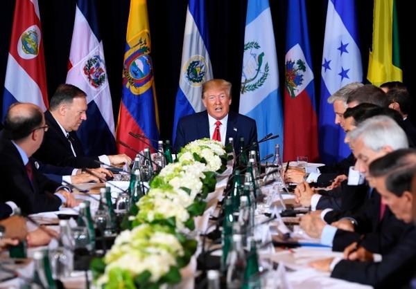 Un encuentro de mandatarios discutió este miércoles 25 de setiembre del 2019, en Nueva York, sobre la situación en Venezuela.