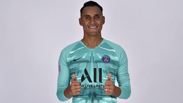 El costarricense Keylor Navas ficho con el París Saint-Germain por cuatro años. El tico dejó el Real Madrid, club con el que estuvo desde el 2014. Fotografía: Tomada del sitio oficial del PSG.