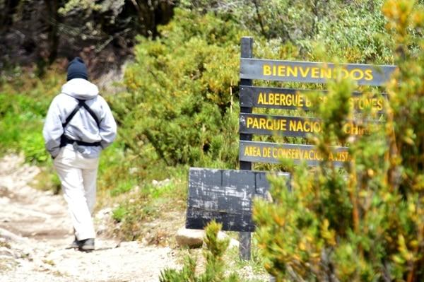 La mujer salió del albergue a la cima del Chirripó donde firmó y no se sabe más de ella. Foto: Rafael Pacheco, con fines ilustrativos.