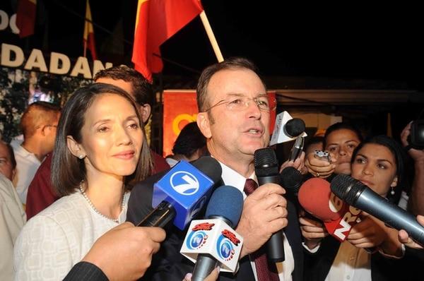 Ottón Solís el 7 de febrero del 2010, cuando reconoció la derrota electoral y dijo que no volvería a postularse. Nadie pensaba entonces en una curul. | LN