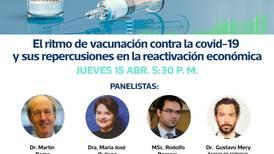 Foro virtual en 'La Nación' sobre el ritmo de la vacunación y sus repercusiones en la reactivación económica