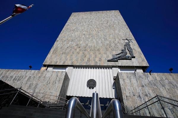 03/04/2019 Corte Suprema de Justicia (fachada), en el Primer circuito judicial de San José. Foto: Rafael Pacheco
