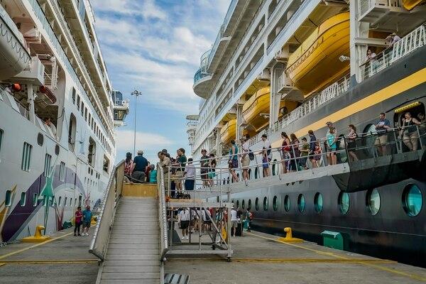 Según los datos del Incop, cada turista de crucero gasta, en promedio, $137 por día. Foto: Cortesía de Incop