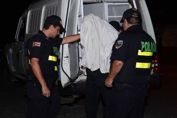 La policía trasladará a los detenidos a los Tribunales de Flagrancia.