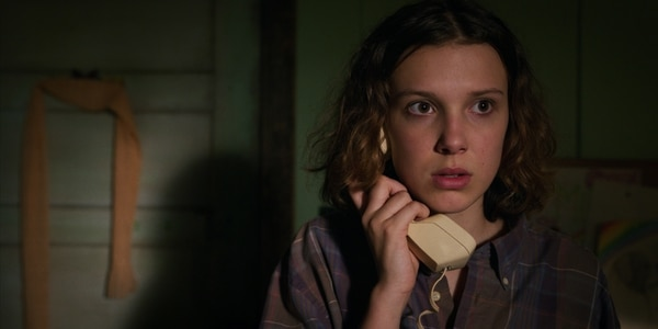 Millie Bobby Brown encarna a Eleven en la serie 'Stranger Things' de Netflix. Foto: Netflix para La Nación