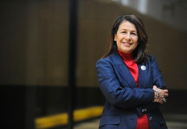 Sonia Marta Mora, presidenta de Sinaes.   ARCHIVO/EYLEEN VARGAS