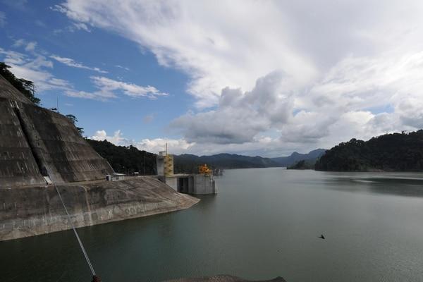 16/09/2016 La inauguración de la planta Hidroélectrica Reventazón, el presidente de Luis Guillermo Solis/Alonso tenorio