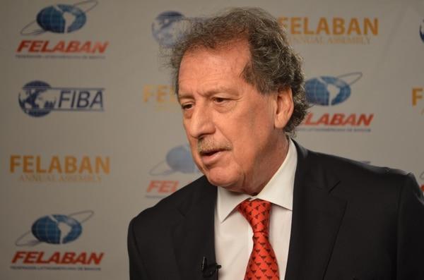 Presidente de la Federación Latinoamérica de Bancos (Felaban), Jorge Horacio Brito.
