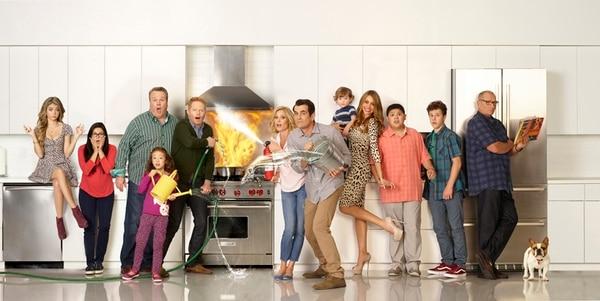 Actualmente, 'Modern Family' es vista por cinco millones de espectadores. Foto: (ABC/Bob D'Amico)