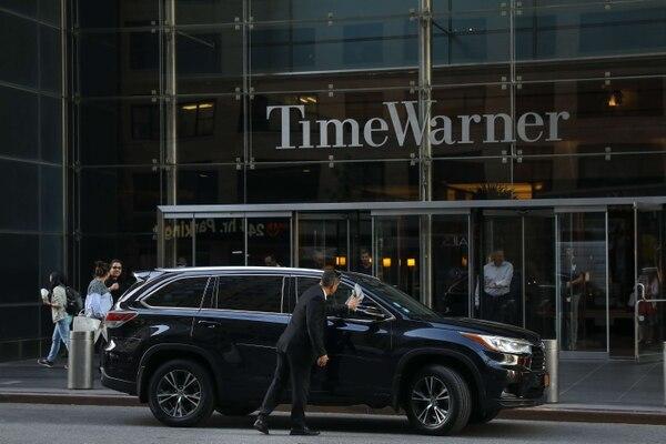 Time Warner, una de las empresas de entretenimiento y noticias más poderosas de Estados Unidos .AFP