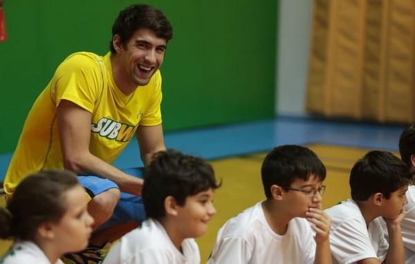 Michael Phelps no descarta volver para los Juegos Olímpicos del 2016 en Río de Janeiro.