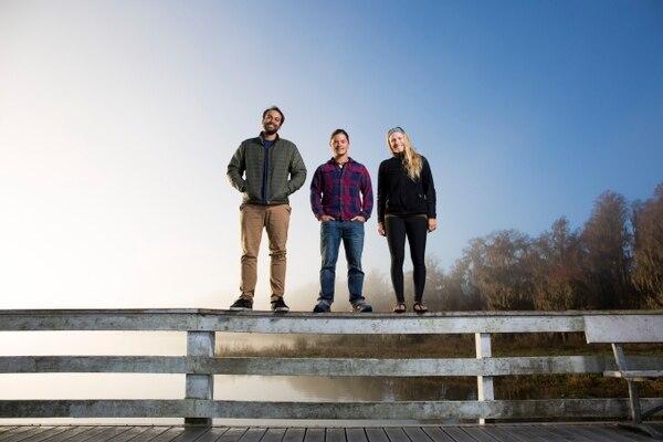 El equipo de producción de Nat Geo en Costa Rica lo componen: Brian Moghari, Filipe DeAndrade y McKenzie Barney