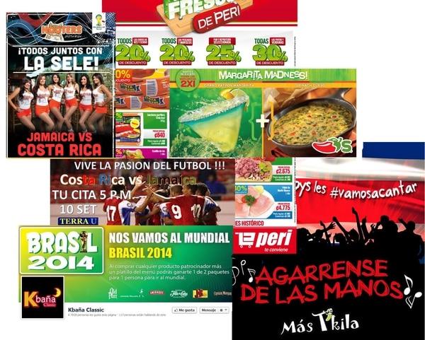 ofertas para el partido Costa Rica-Jamaica