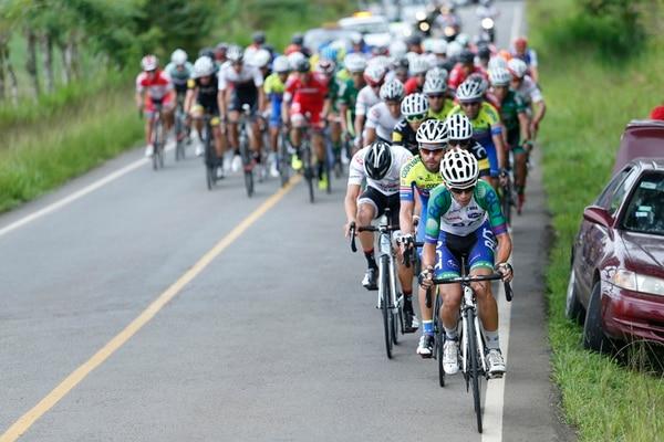 La victoria de los hombres de Coopenae se dio en el último día de competencias organizadas por la Federación Costarricense de Ciclismo. | ADRIÁN SOTO.