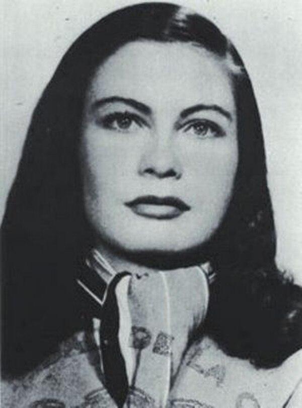Eunice en el ápex de su belleza y juventud. Foto: Archivo.