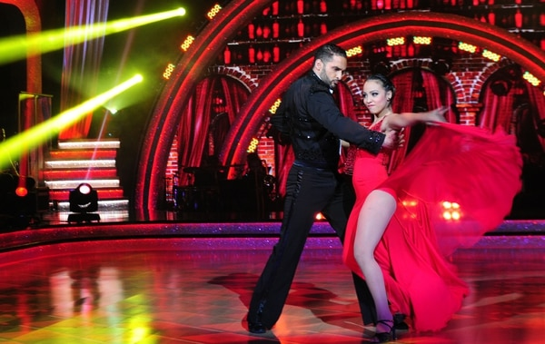 Se produce por tercera vez el célebre concurso 'Dancing with the Stars'.