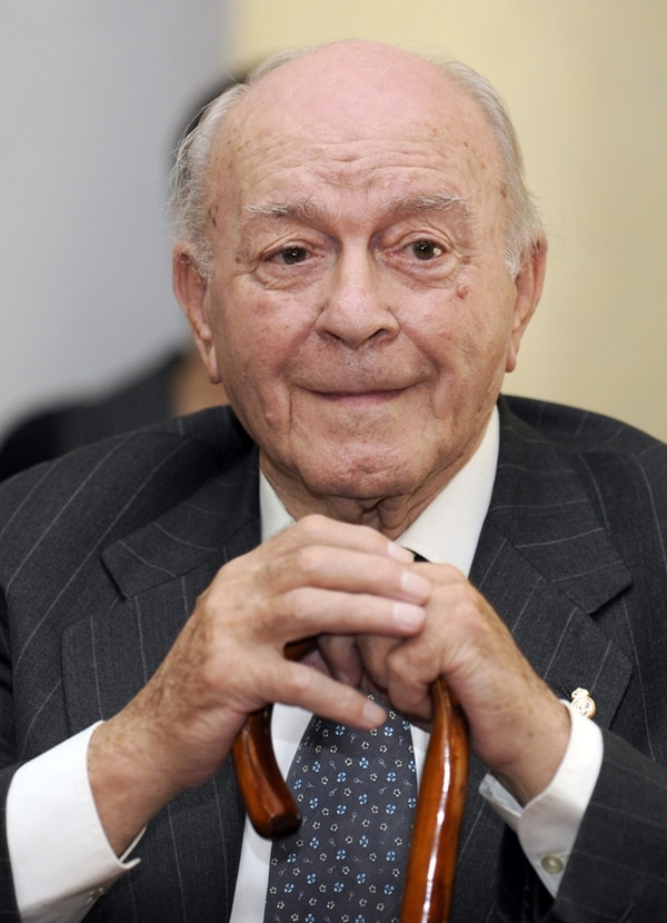 Alfredo di Stefano en una foto de archivo que data del 2009. | AFP
