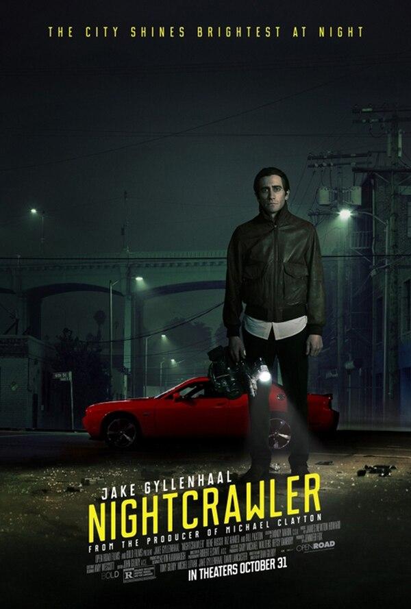 Afiche de Peligro inminente, segunda película del ciclo club Magaly para LN.