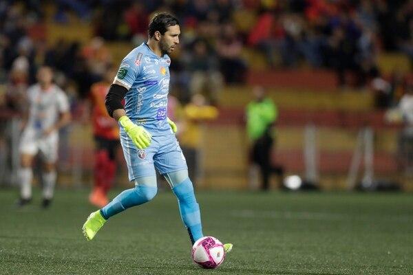 El portero de San Carlos, Marco Madrigal, podría dejar el equipo el otro campeonato. Foto: José Cordero