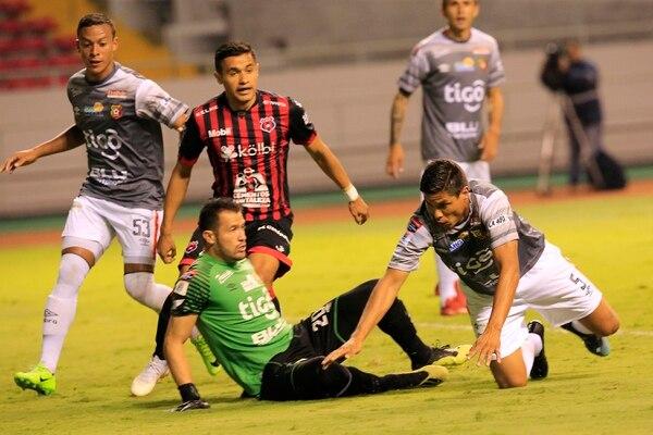 Herediano dejó en ascuas su clasificación a las semifinales. Foto: Rafael Pacheco