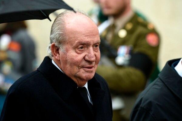 El rey emérito Juan Carlos I de España asistió a la ceremonia fúnebre de Jean d'Aviano, Gran Duque de Luxemburgo, el 4 de mayo del 2019, en la ciudad de Luxemburgo. Foto: AFP