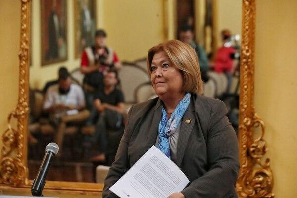 María Amalia Revelo tiene una amplia experiencia en el sector turismo y desde el inicio de esta adminstración ostenta el cargo de ministra del sector. Foto: John Durán