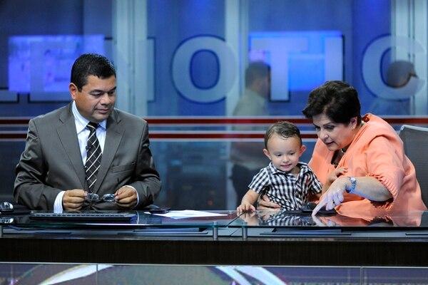 Rol de abuela.En los comerciales, jugó con Nicolás su nieto.E Vargas