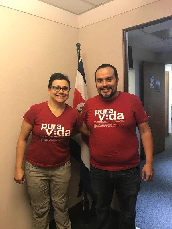 Melisa Barboza y José Antonio Jiménez votaron en Chicago.
