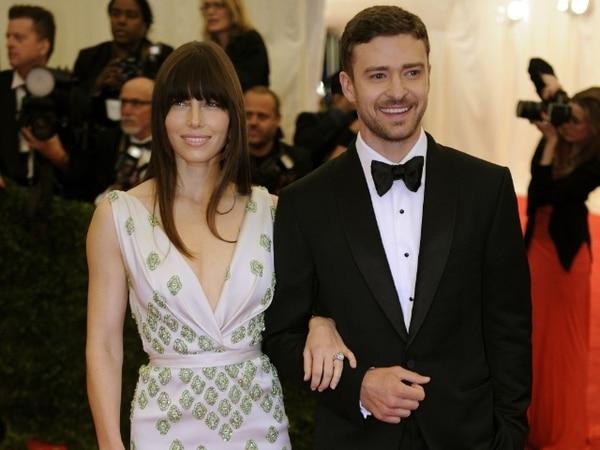 Jessica Biel y Justin Timberlake.AFPPareja.
