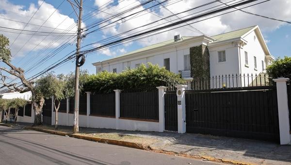 Embajada de Venezuela, ubicada en Los Yoses. Fotos: Mayela López.