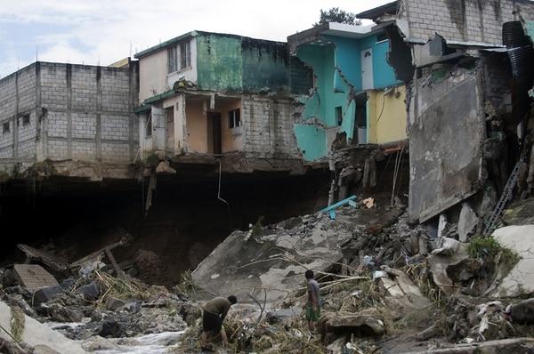 Daños causados por lluvias en Villa Hermosa, Guatemala. | AFP